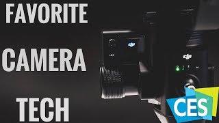 Top 3 Favorite Camera Items At CES // CES 2018 Camera Tech