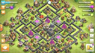 Clash of clans: Builder Hall level 3 best defence base | importance of traps in builder hall base