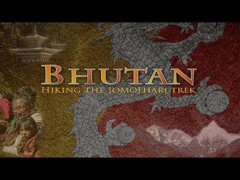 Bhutan Jomolhari trek, Himalaya