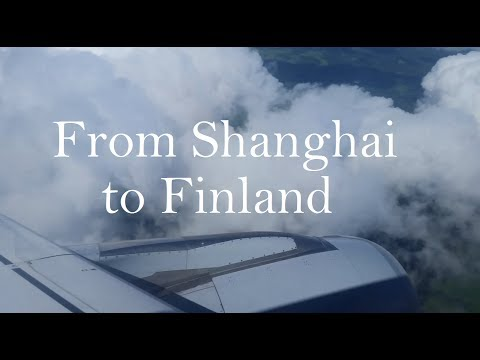 From Shanghai to Finland