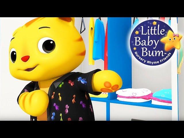 Getting Dressed Song | Part 2 | UK Version | Nursery Rhymes by LittleBabyBum!