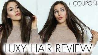 LUXY HAIR REVIEW + COUPON CODE