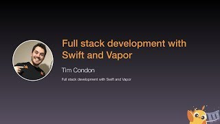 Full stack development with Swift and Vapor - iOS Conf SG 2020