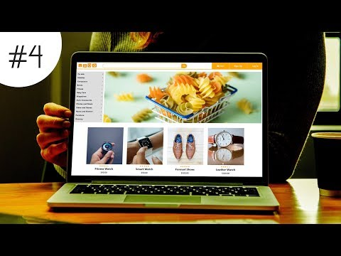 #4 How To Make ECommerce Website Using HTML CSS And Bootstrap Step By Step