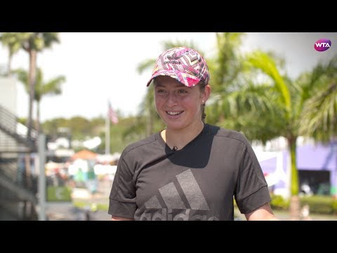 2018 Miami Open pre-tournament interview | Jelena Ostapenko