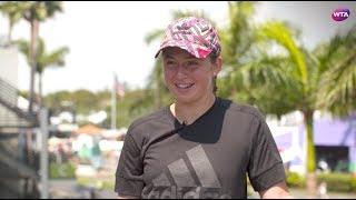 2018 Miami Open pre-tournament interview | Jelena Ostapenko