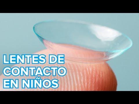 �Pueden usar lentes de contacto los ni�os