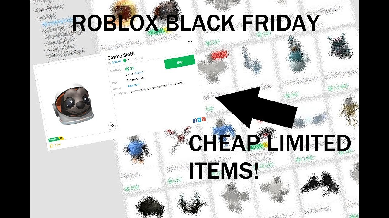 Black Friday Shopping On Roblox - roblox black friday 2018 items