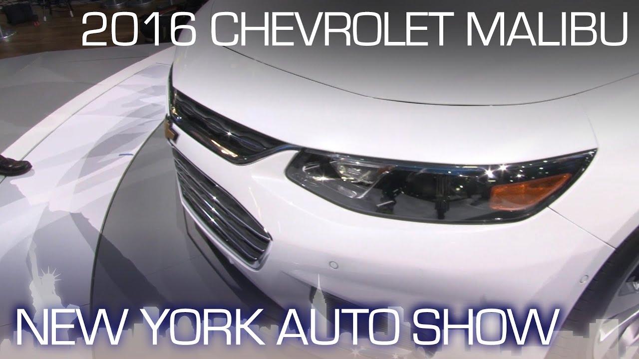 2016 Chevrolet Malibu Leverages Impala Dna New York Auto Show 2017