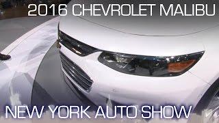 2016 Chevrolet Malibu Leverages Impala DNA - New York Auto Show 2015