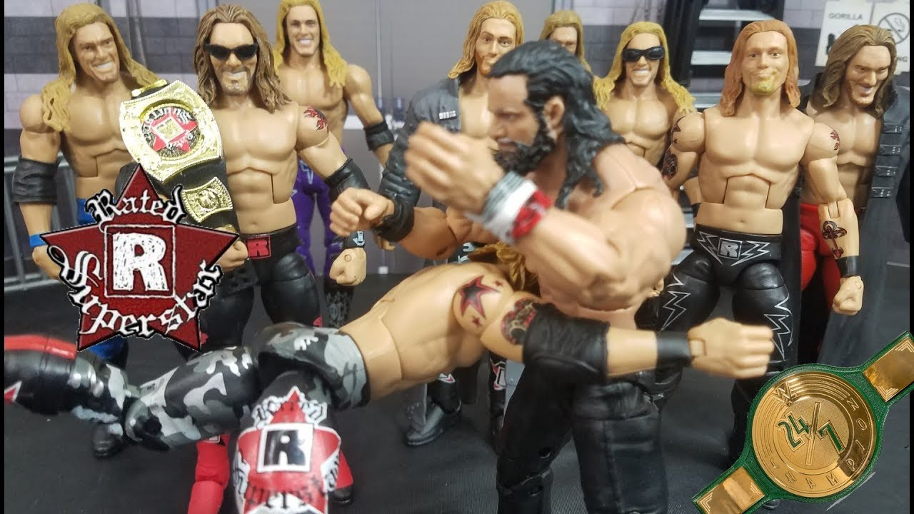 WWE RATED R SUPERSTAR ACTION FIGURES EDGE