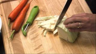 Chopping Cabbage Video