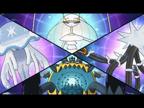 Pokemon Sun & Moon - All Ultra Beast Missions