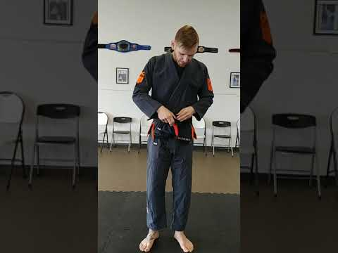 How To Tie The Perfect  BJJ Knot