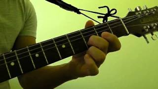 how to play bm7 guitar bar chord