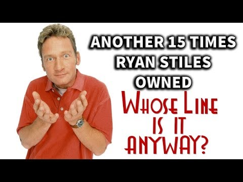 """#TBT - Another 15 Times Ryan Stiles Owned """"Whose Line Is It, Anyway?"""""""