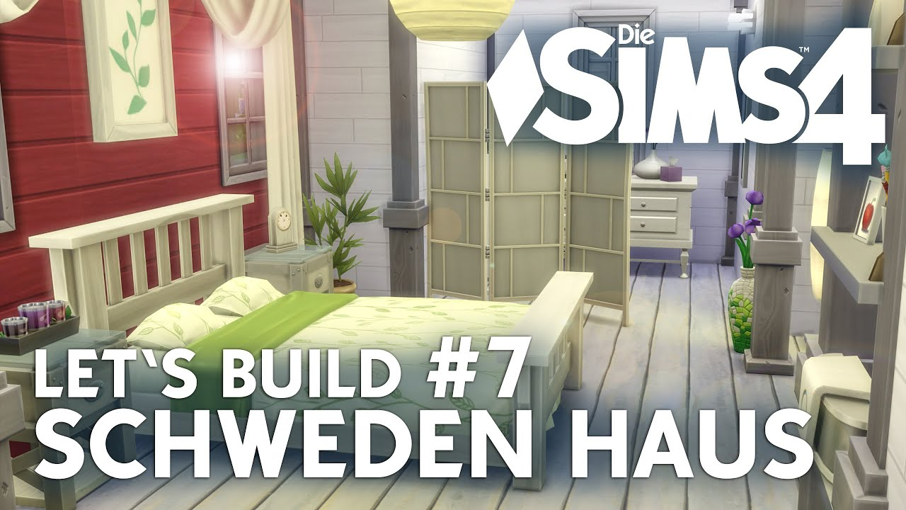 die sims 4 let's build schweden haus #7 | schlafzimmer bauen - youtube