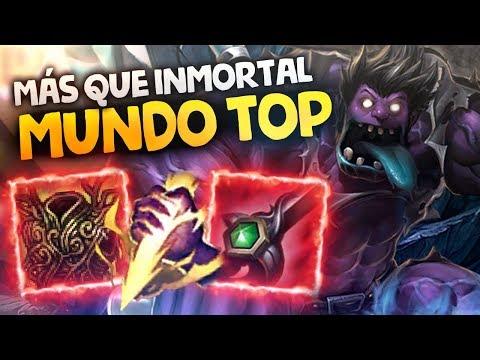 MUNDO SMITE TOP | 5000 HP E INMORTAL, NUEVO META DE CANGREJITOS