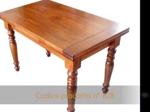 Tavolo tavoli classici arte povera in stile su misura intarsiati ...