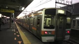 東海道本線313系+211系普通列車浜松行き草薙駅発車シーン2020.12.10.