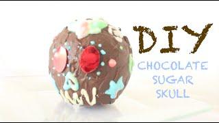 DIY- CHOCOLATE SUGAR SKULL without a mold Thumbnail