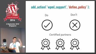 Gaining Customer Loyalty through Support – A Case Study on WPML Team - WordCamp Singapore 2016