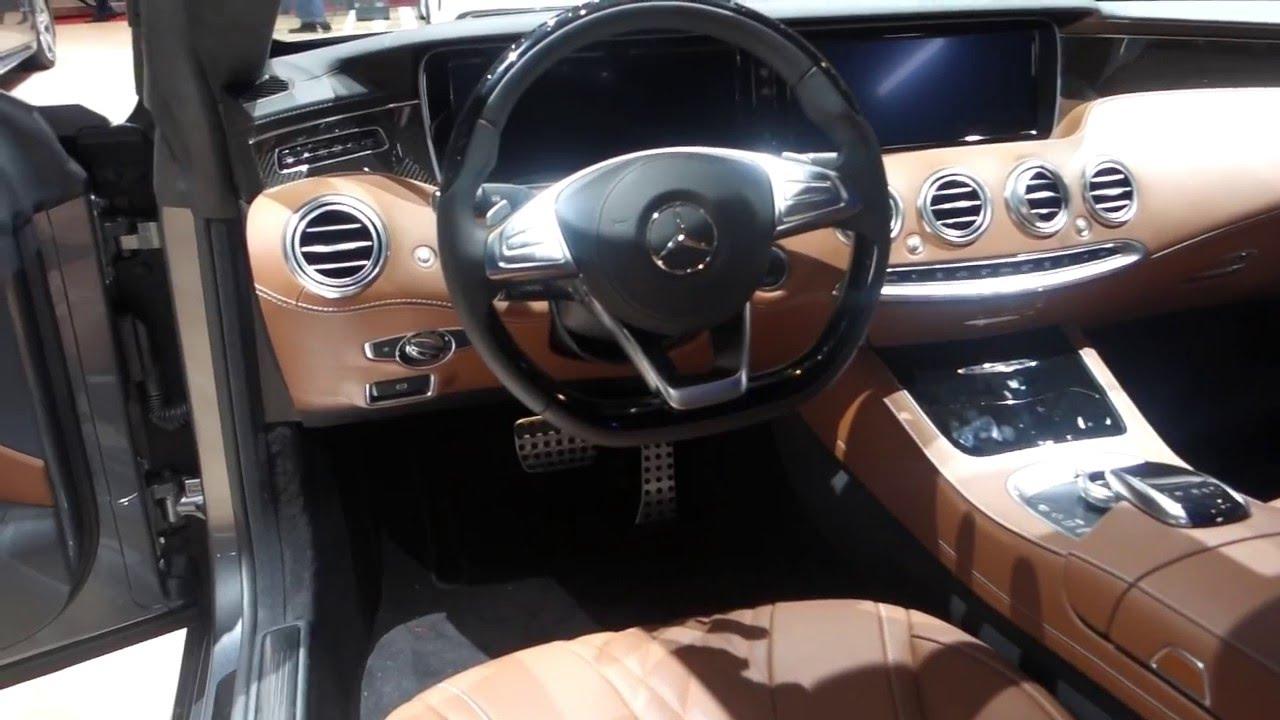 Geneva Motorshow 2016 Mercedes S Class S 400 Coupe - YouTube