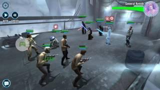 Finn Zeta R2-D2 Resistance vs Kenobi and Barris Zeta - Galactic War - SWGOH