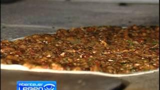 Lahmacun  Türkische Pizza Herten Einhaus Fabrik Kallavi.de Osmanli Lahmacunu Tei