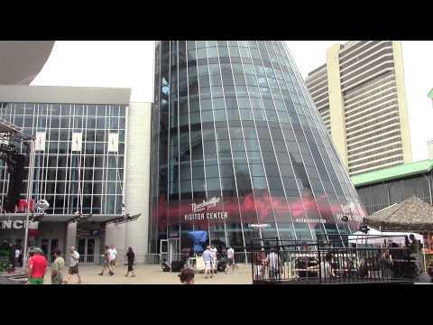 Nashville Music City Visitor Center Needle Spire