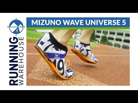 Mizuno Wave Universe 5 Shoe Review