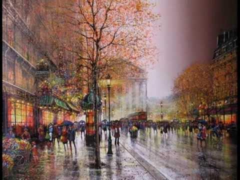 Под небом Парижа.... (аккордеон)