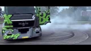 Kamion Drift Gymkhana 1100HP