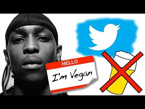 Grime MC JME Talks About Vegans and Alcohol on Twitter