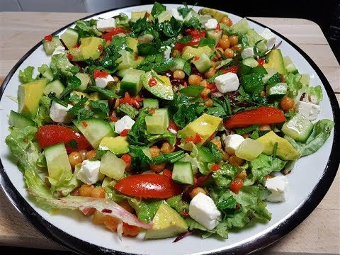 The most delicious salad recipe youtube for The most delicious recipes