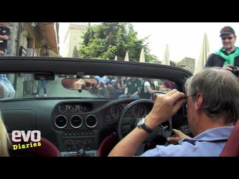 Ferrari 550 Barchetta on the Mille Miglia 2011- evo magazine