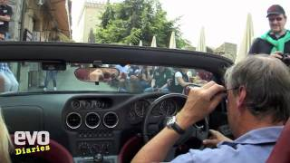 Ferrari 550 Barchetta on the Mille Miglia 2011- evo magazine