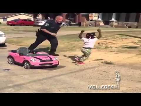 Police Officer Chases Down Little Black Girl