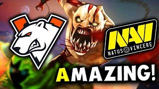 VP vs NAVI - AMAZING GAME! - LEIPZIG MAJOR DreamLeague 13 DOTA