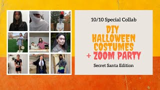 DIY Halloween Costumes Zoom Party | Collab | 10/10