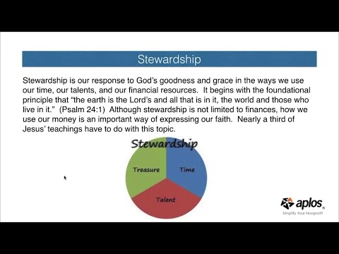 5 Keys for Church Financial Stewardship