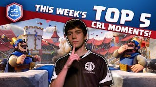 Week 7's TOP 5 CRL Moments!
