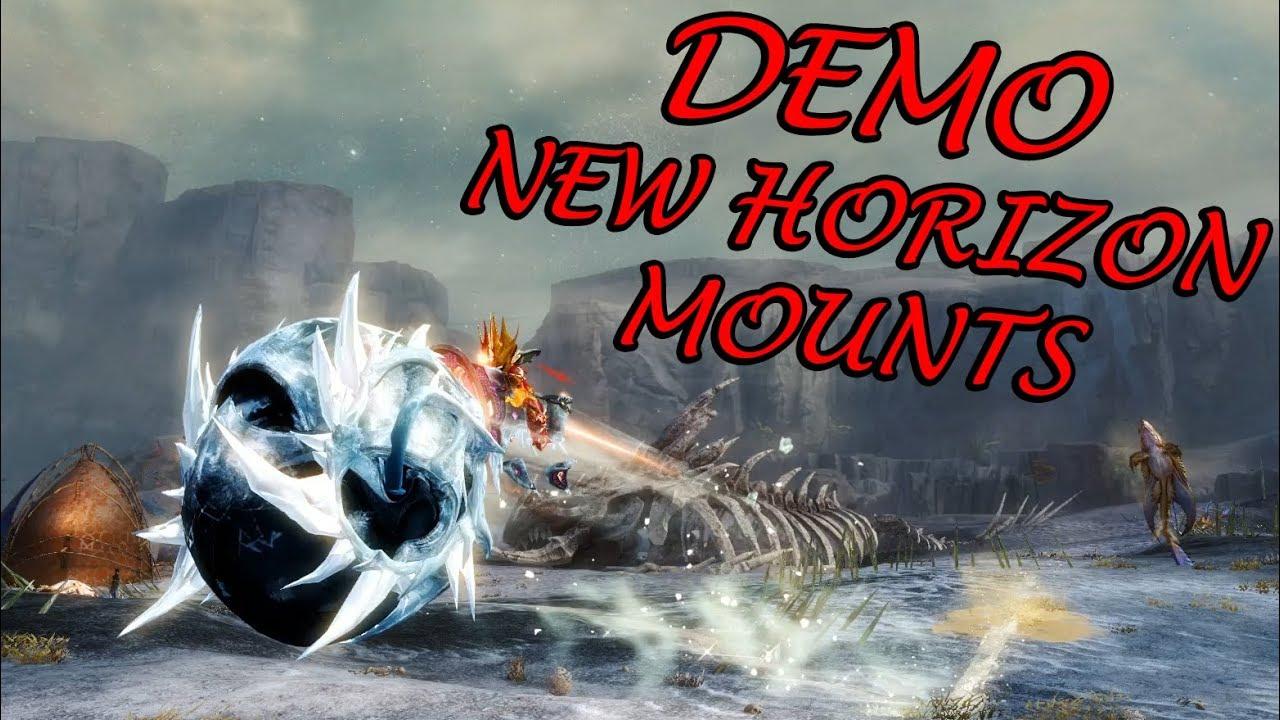 Guild Wars 2 - New Horizons Mount Demo