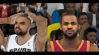 EVOLUTION OF NBA 2K MOBILE 12 - 17 (Android & IOS)