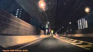板橋分岐から滝野川Uターンからの板橋JCT2車線
