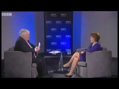 BBC Scotland: SNP Conference interview with Nicola Sturgeon [Equality Network]