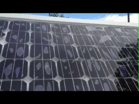 home made solar panel 250watt failed glass warped not high temperature youtube. Black Bedroom Furniture Sets. Home Design Ideas