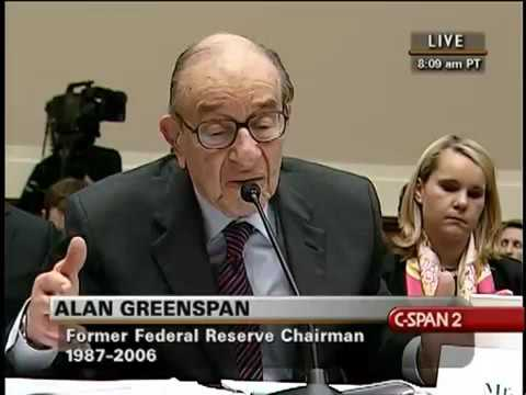The 2008 Financial Crisis and the Federal Reserve: Alan Greenspan (2010)