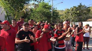 Todas as Imagens do Protesto na porta do CT do Flamengo, Ninho do Urubu!