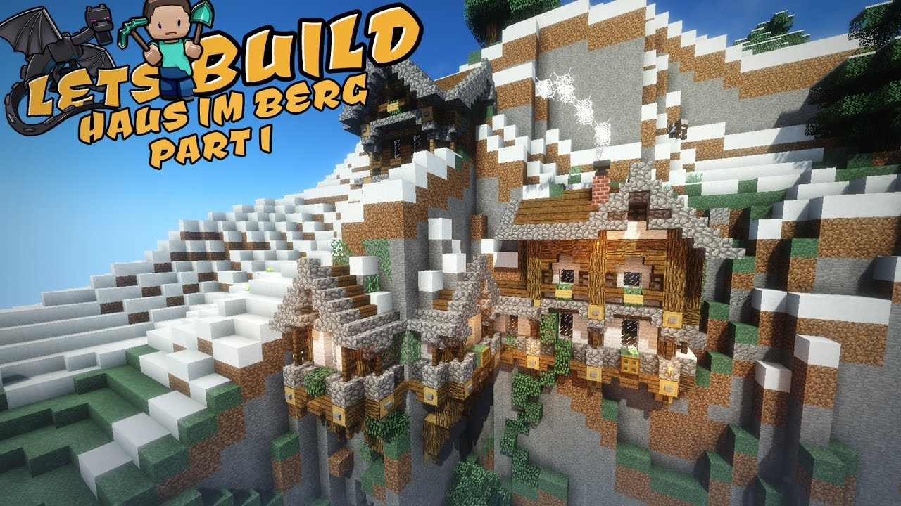 Haus Im Berg Minecraft Tutorial YouTube - Minecraft hauser modern holz